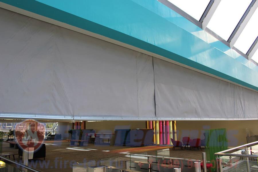 Фото огнезащитные шторы