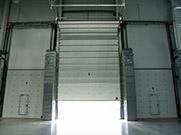Ворота для автосервиса