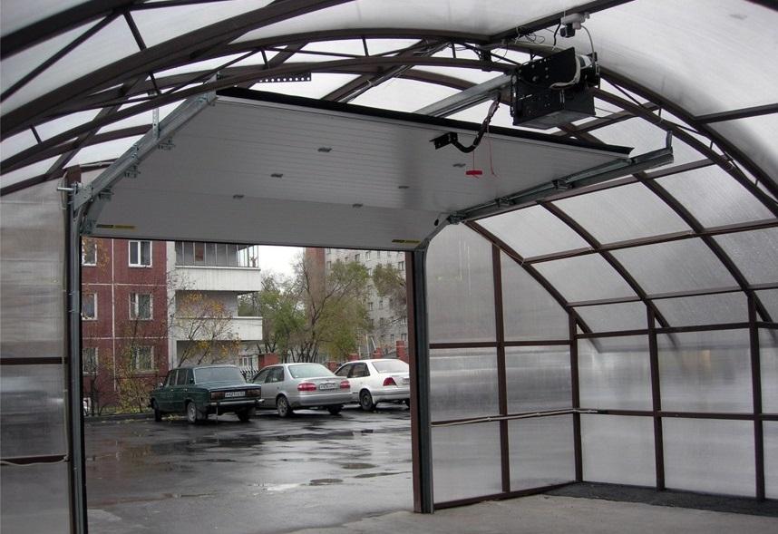 Купить гаражные подъемные ворота