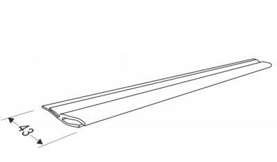 Боковой уплотнитель для секционных ворот