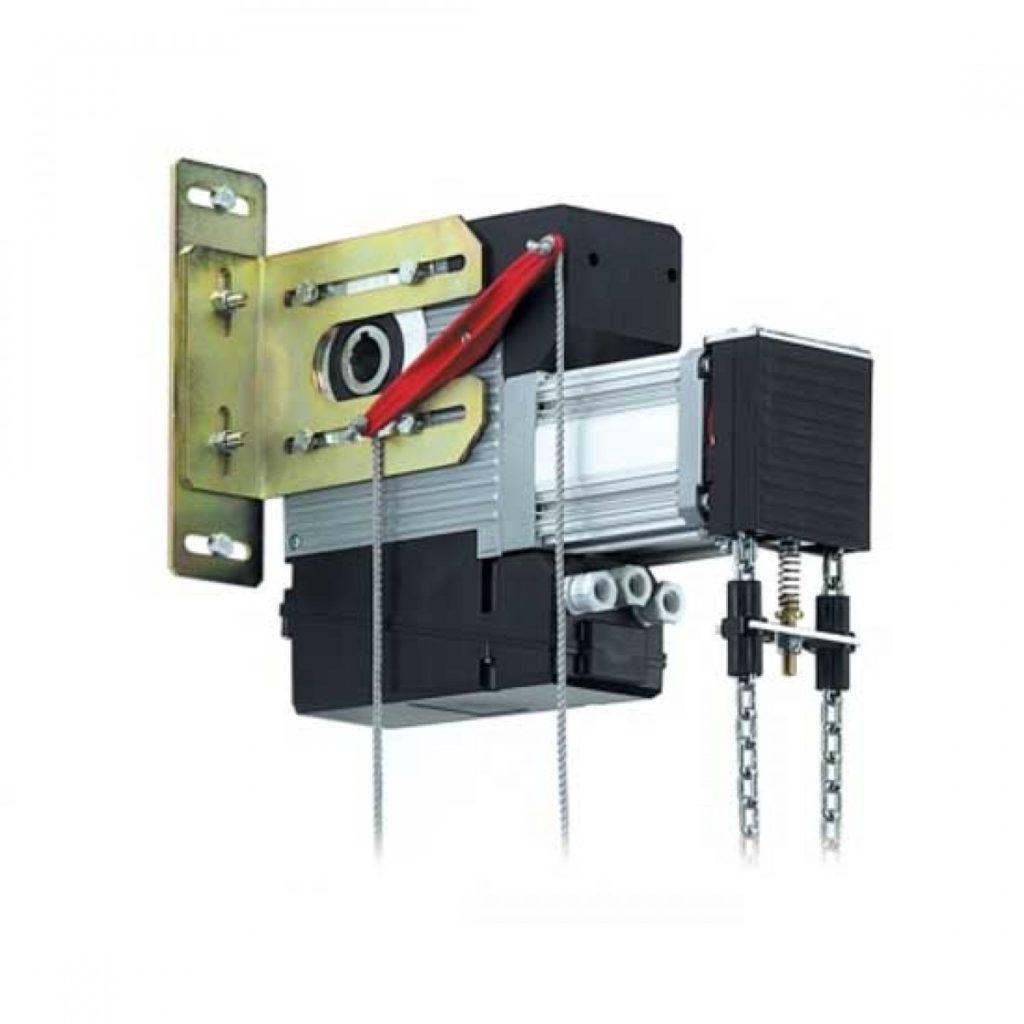 Осевой привод для промышленных секционных ворот