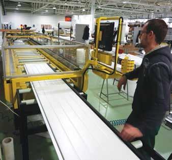 Производство промышленных секционных ворот