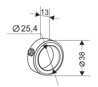 Кольцо стопорное для секционных ворот