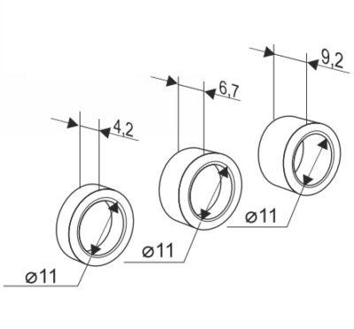 Комплект втулок распорных секционных ворот