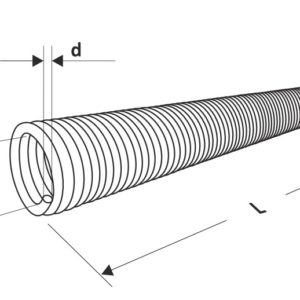 Пружина для секционных ворот торсионная 95 мм.