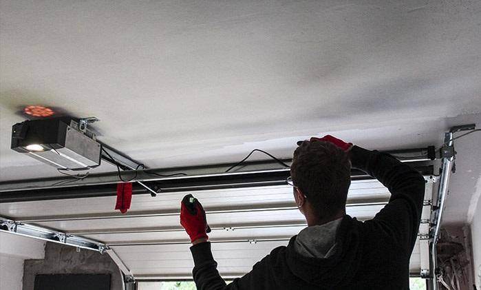ремонт автоматики гаражных ворот