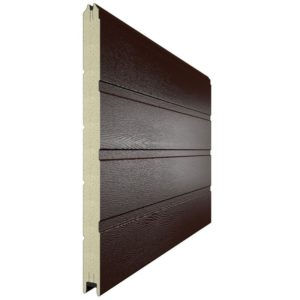 Панель для секционных ворот 500 мм. Цвет 8017