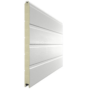 Панель для секционных ворот 500 мм. Цвет 9010 белый