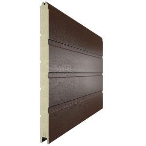 Панель для секционных ворот 610 мм. Цвет 8014