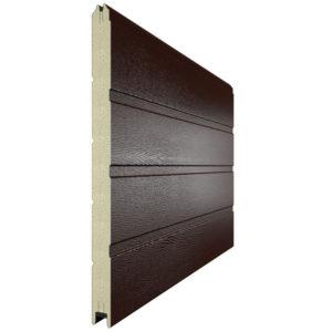 Панель для секционных ворот 610 мм. Цвет 8017