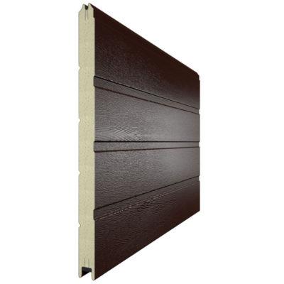 Сэндвич панель для секционных ворот 610 мм. RAL 8017
