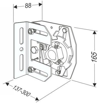 Устройство защиты от обрыва пружины секционных ворот